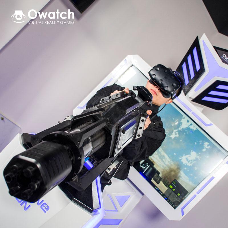 dfc4551dee07 Virtual Reality Shooting Games Simulator - Gatling VR Machine Gun ...