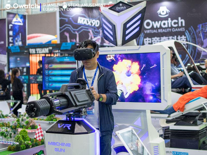 Virtual Reality Shooting Games Simulator - Gatling VR